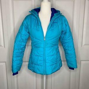 Columbia Zip Up Puffer Jacket